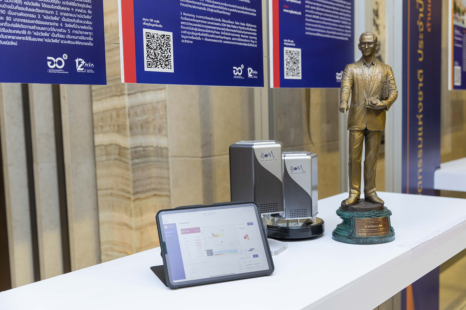 SCGP wins National Innovation Awards 2020 in category of Product and Service Design from Detect Odor & Monitoring (DOM)